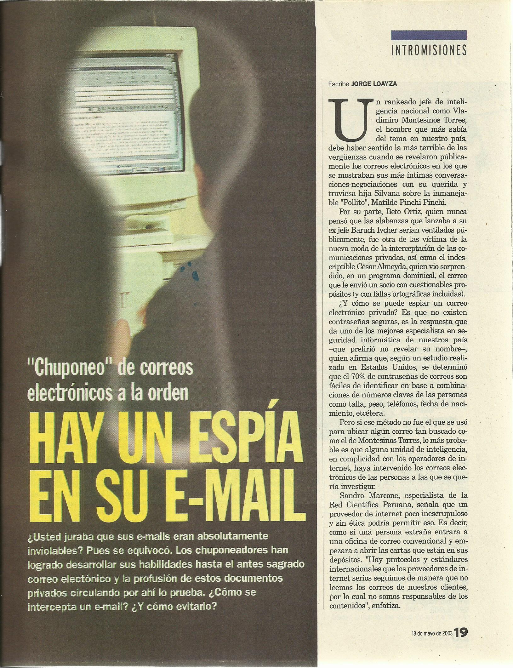 Alex Celi - Entrevista Diario La República 1