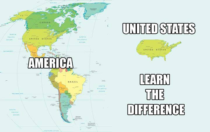the differences between the united states of america and united states of mexico
