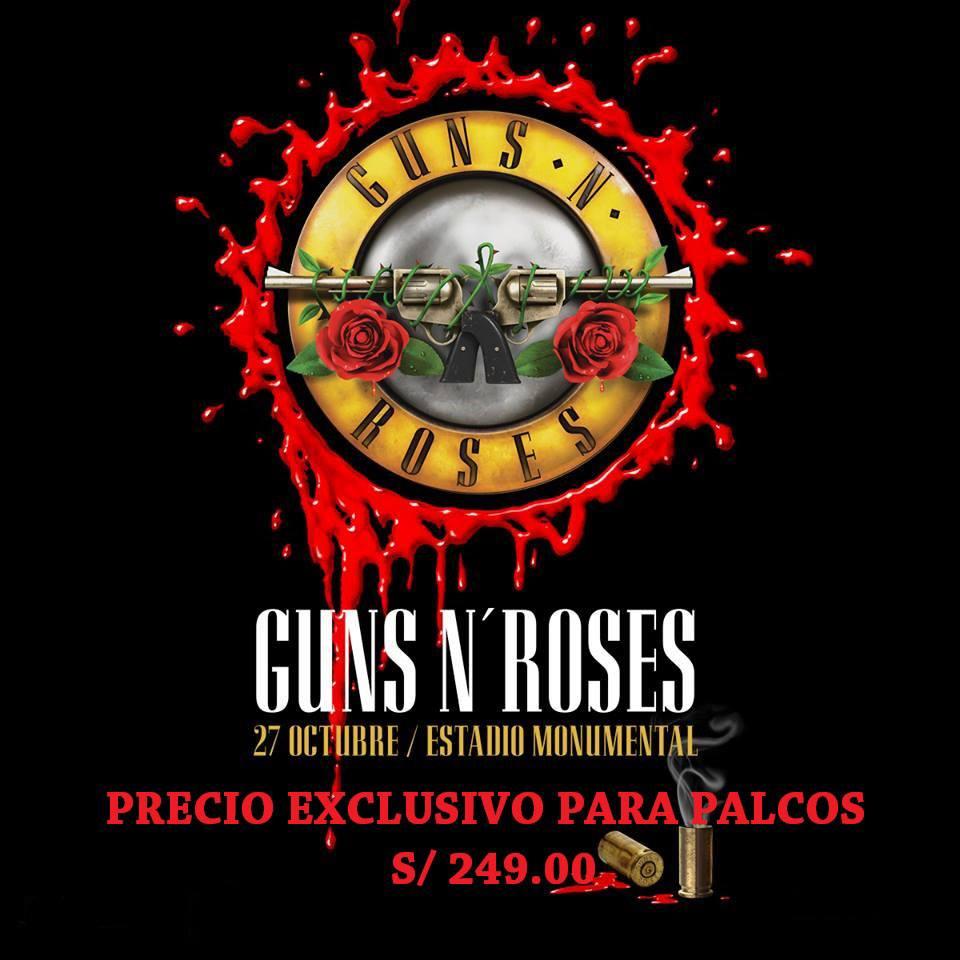 Guns 'N' Roses en el Monumental de Lima